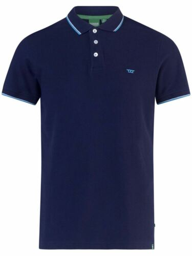 1XLT D555 Track Tall Polo Shirt With Tipping in sizes LT 2XLT and 3XLT up