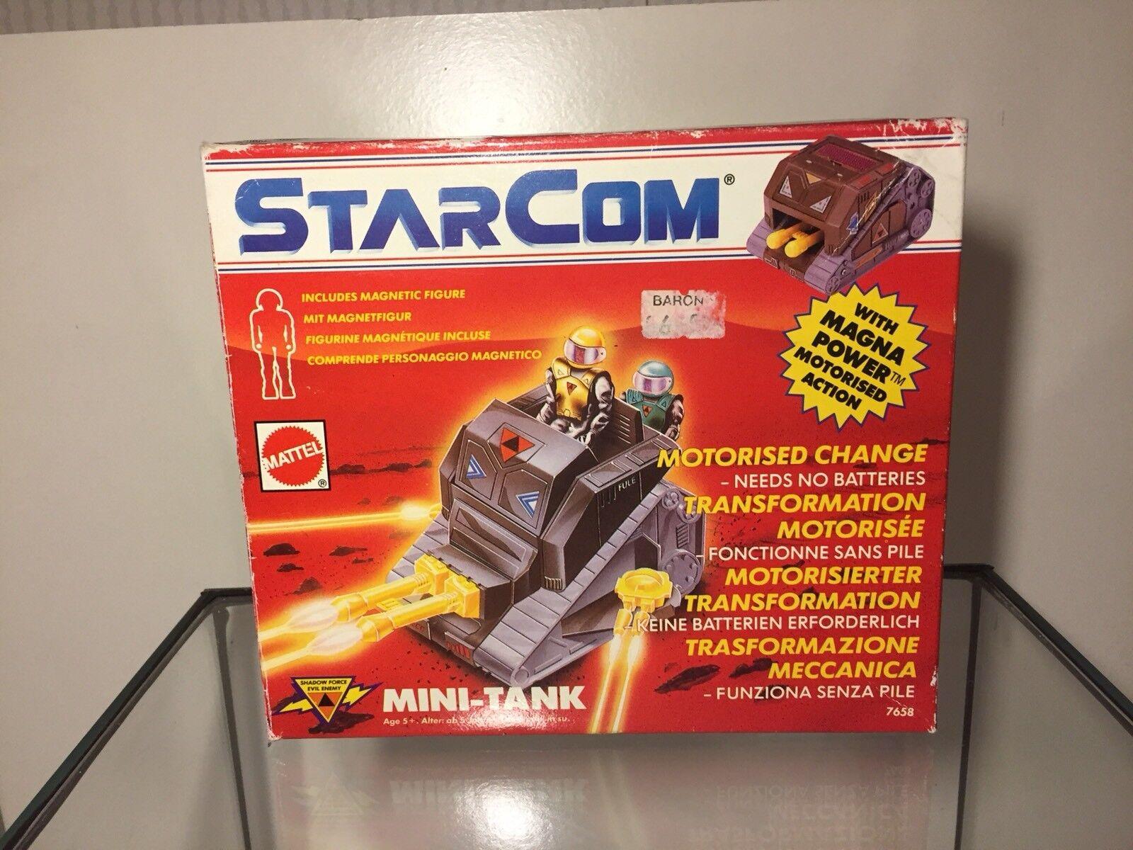 StarCom Mini Tank Box Only❗️Ultra Rar❗️