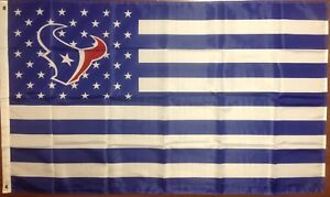 b44a6f31 Details about Houston Texans 3'x5' Stars And Stripes Banner Flag Free  Shipping From N.C.