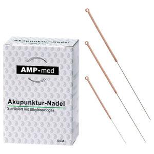 Akupunkturnadeln mit Kupfergriff, Akupunktur