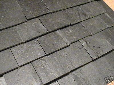 100 1:12th Scale Richard Stacey REAL Slate Miniature Dolls House Roof Tiles