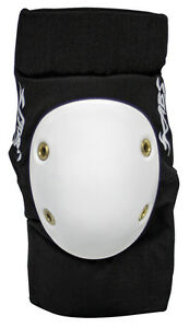SMITH-SCABS-ELITE-ELBOW-PADS-Black-White-Skate-Roller-Derby-Skateboard-inline