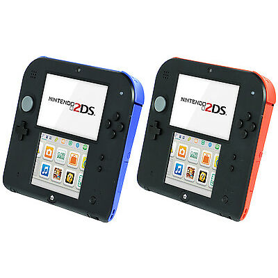 New Nintendo 2DS Red/Blue