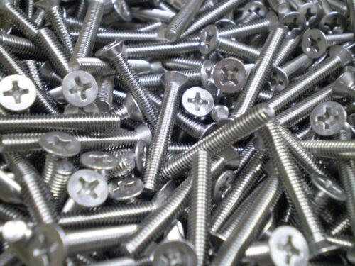 10 cilindros tornillos lentejas tornillos avellanados cruz TORX m1 5 m3 6 m2 m2