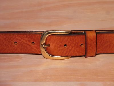 1 1/4 Inch 32mm Wide Leather Belt Waist Size Online Black Brown Tan Purchase Verkaufsrabatt 50-70%