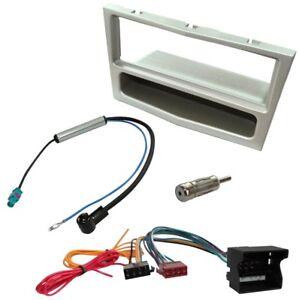 Kit-Adaptateur-Autoradio-Cadre-1-DIN-Cable-Faisceaux-compatible-avec-Opel-Tigra