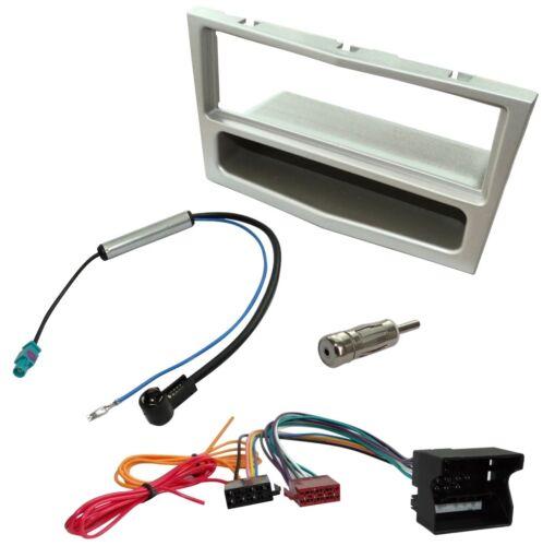 Kit Adaptateur Autoradio Cadre 1 DIN Câble Faisceaux compatible avec Opel Corsa