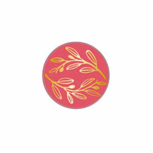 Retro Wood Plants Stamp Sealing Wax Seal Stamp Ancient Seal Post Decor DIY Gift