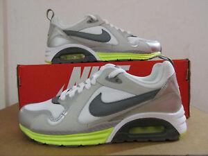 Détails sur Nike Air Max Trax Femme Baskets 631763 100 Chaussures Baskets de dégagement afficher le titre d'origine