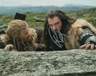 Entertainment Memorabilia Richard Armitage Hobbit Autographed Signed 8x10 Photo Coa #mr259 Driving A Roaring Trade Movies