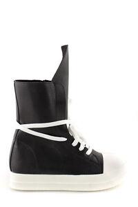 Alte Stivaletti Scarpe Senza Neri Nere Sneakers Lacci Sportive Donna 4R5ALq3j