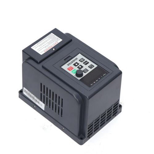 AC 220 V 0,75kW Frequenzumrichter VFD Frequency Drive Inverter Drehzahlregler DE