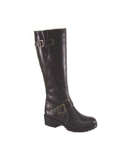 Matisse Women's Wellington Buckle Boot Black,  REG. PRICE  211.00 Width B NEW