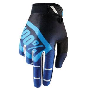 100-Motocross-Guanti-RIDEFIT-CORPO-BLU-MTB-MX-Enduro-Cross