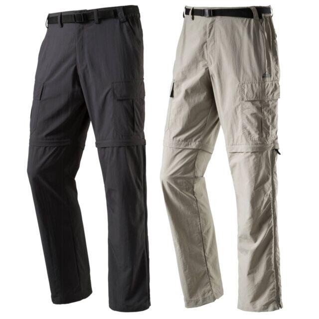 McKinley Herren Stretch Trekking Wander Outdoor 2:1 Abzipp Hose Minden Shorts