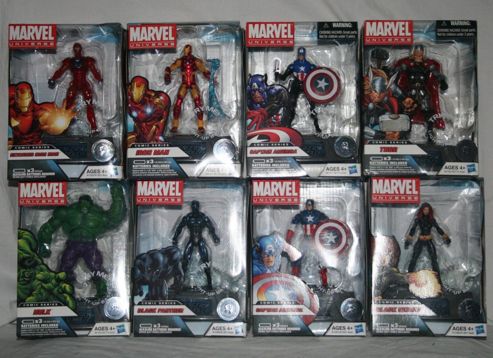 Marvel universe comic series TRU avengers set of 8 8 8 3.75  MISB 1c1fe3