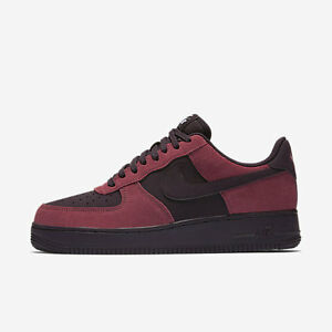 brand new f71e0 87632 New Men's Nike Air Force 1 Low Shoes (820266-605) Port/White/Black ...