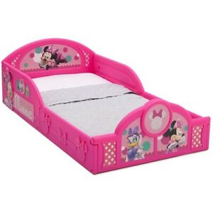 Disney Minnie Mouse Plastic Sleep and Play Toddler Bed ...