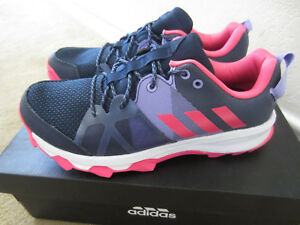2ad0366f1f NEW Adidas Kanadia 8.1 K Girls Youth Running /Trail Shoes Size 6 =8 ...