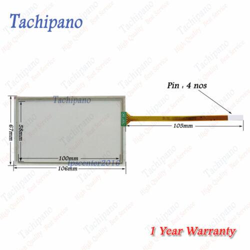 Touch screen panel for 6AV6642-0BD01-3AX0 TP177B 4