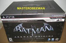 Batman: Arkham Origins Collector's Edition New Sealed (Sony PlayStation 3, 2013)