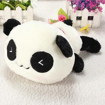 25cm Cute & Cuddly Soft Plush Animal Stuffed Panda Pillow Bolster Doll Toys Gift
