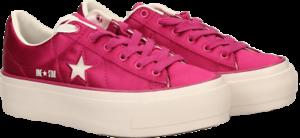 repollo Circo tarde  CONVERSE One Star Platform Ox 3 Cm. Sneakers woman TEXTILE ...