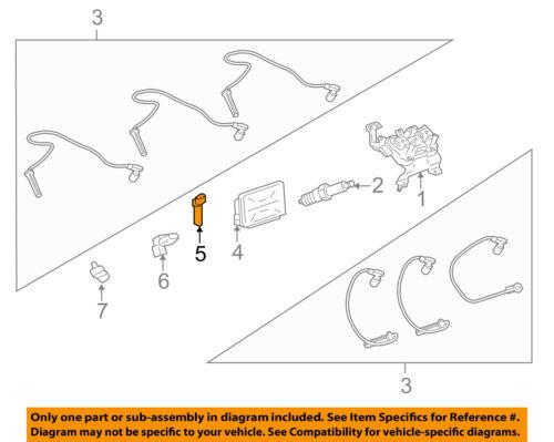 GM OEM-Engine Camshaft Cam Position Sensor 12596663