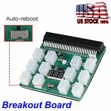 DPS-1200FB A 1200//750w Breakout Board for HP PSU GPU Mining ZCASH ETH