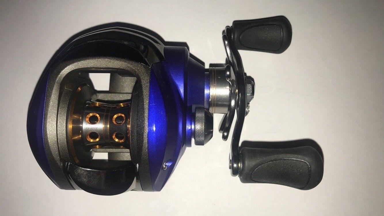 Dyna Micer Baitcast main droite multiplicateur pêche moulinet leurre brochet bass Cast Spin