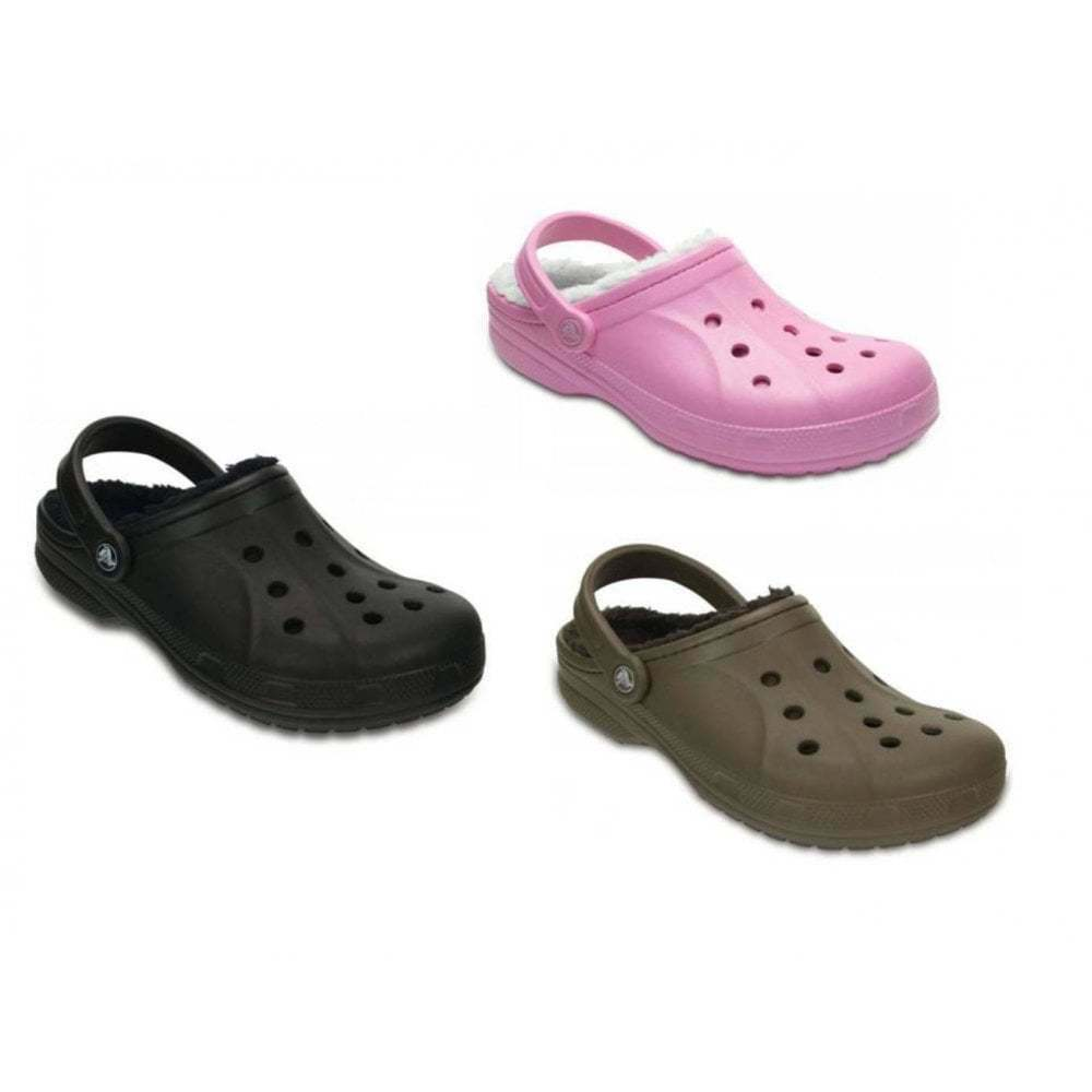 Crocs Winter Lined Unisex Clog All Sizes In Various Colours
