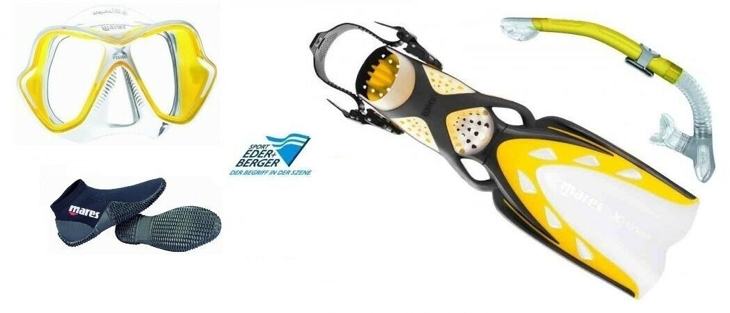 Mares Dive Set X-Stream Yellow Professional abc-set Size 36-47