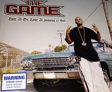 The Game 50 Cent G-Unit Hate It Or Love It CD Single Rare Higher The Documentary