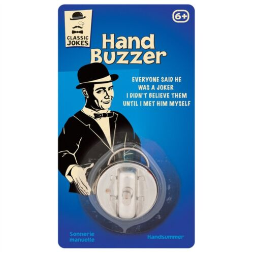 Choque Le Jokes Hand Buzzer Classic Toy Funny Gift Tobar