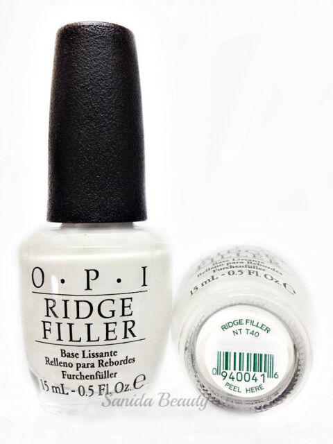 OPI Ridge Filler Base Coat NT T40 0.5oz/15ml   eBay
