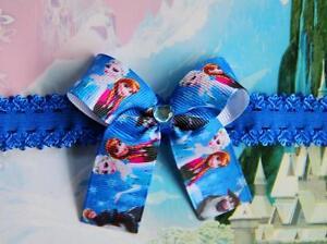 Disney-Frozen-Princess-Anna-Elsa-Inspired-Handmade-Headband-Dress-Bow-Costume