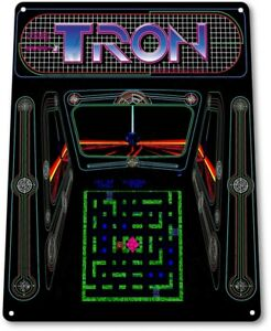 Tron-Classic-Bally-Midway-Arcade-Marquee-Game-Room-Wall-Decor-Metal-Tin-Sign