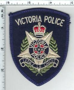 Victoria Police (Australia) Uniform Take-Off Shoulder Patch Early 1980's
