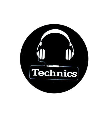 Pro-audio Equipment Intellektuell Wollfilz Slipmats Technics Kopfhörer X1 Dmc Weiß Schwarzer Hintergrund Ein GefüHl Der Leichtigkeit Und Energie Erzeugen