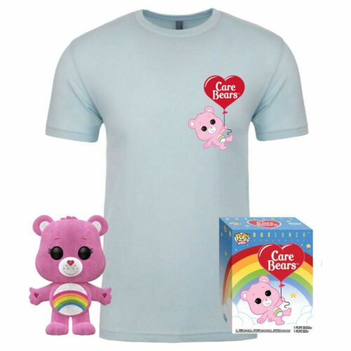 Care Bears POP /& Tee Box Cheer Bear Exclusive Funko Medium Size