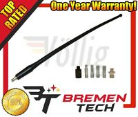 Brand Antenna Mast W/ 6 Piece Universal Adapters For Jeep Wrangler '07-'12