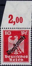 === DR Dienst Mi. 107 ** Oberrand Platte, Kat. 40€ ===