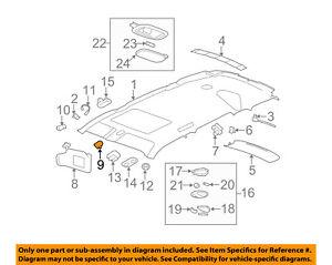 HO2819128 Fits 2005-2006 Honda CR-V Passenger Side Taillight Bulbs Incl Lens