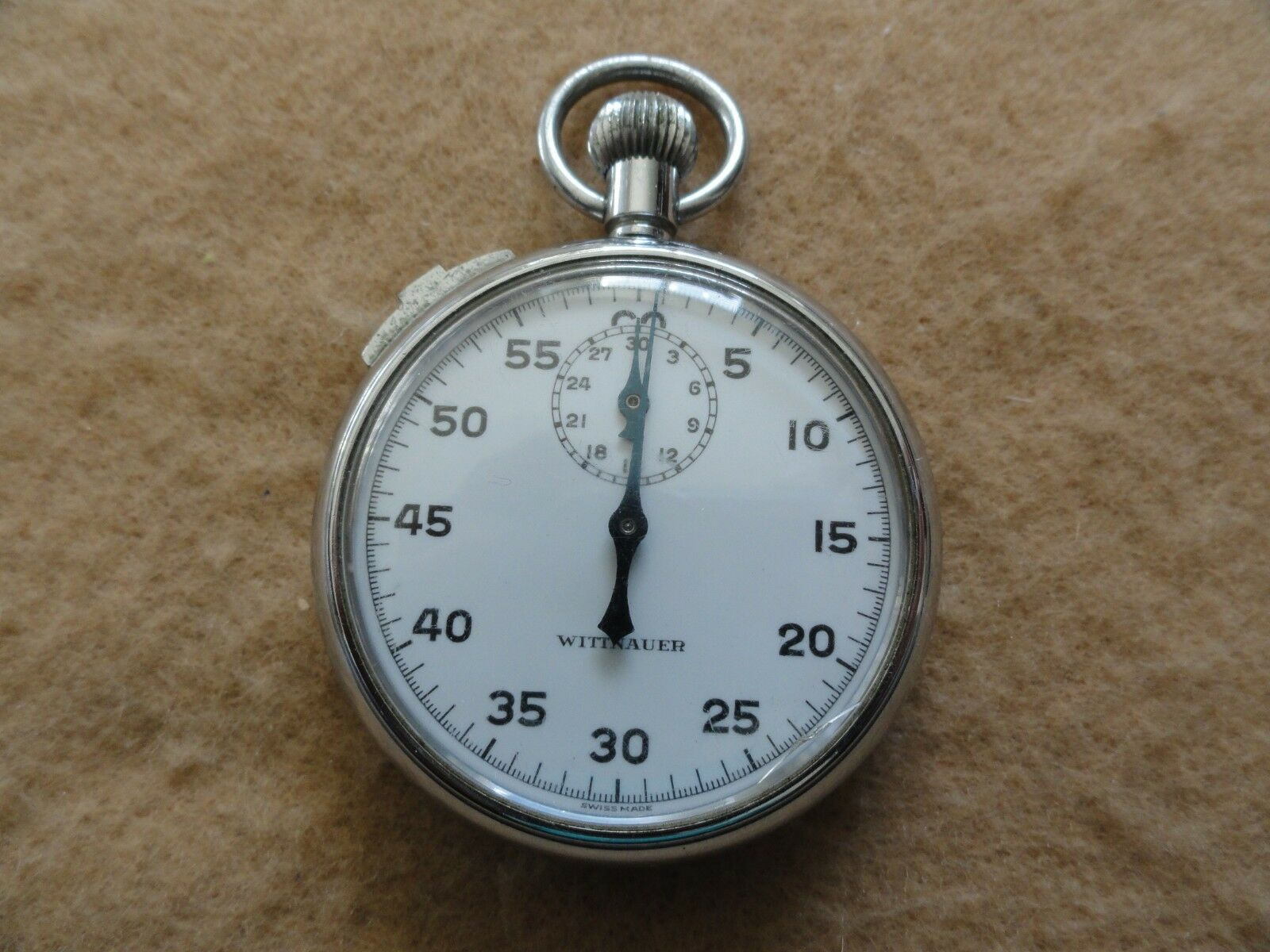 Swiss Made Wittnauer Vintage Mechanical Wind Up Up Wind Stopwatch - Issue 4cc429