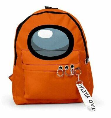 Among US /& JOJO Giorno Boys Girls Teens Backpack School Shoulder Bag Rucksack