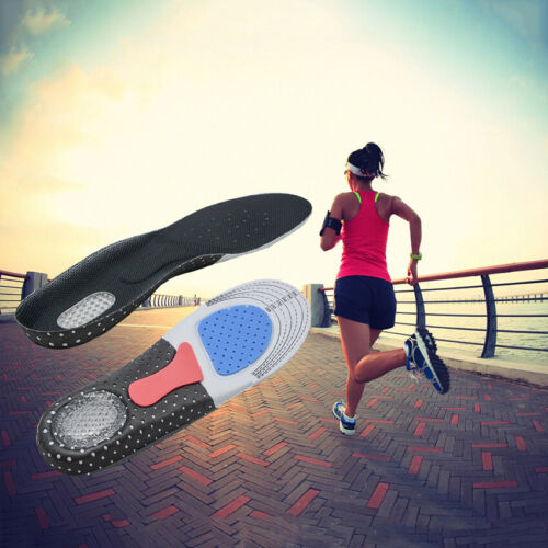 Run Shock-Absorbing Plantar Fasciitis Insoles FootConfortPlus Feeling Younger
