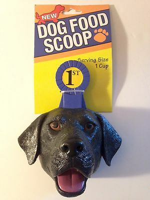 Pet Dog Food Scoop 1 Cup Shaped Like A
