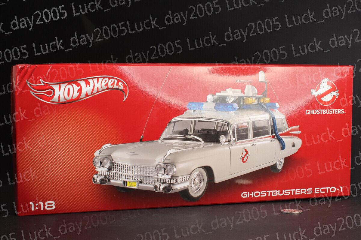 Hot Wheels BCJ75 1959 Ghostbusters Ecto - 1 1 1 1 18 Diecast Modelo 6c6578
