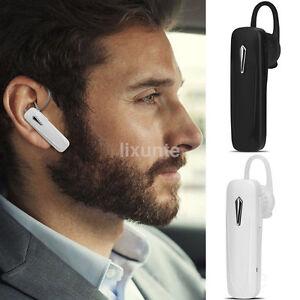 Wireless Bluetooth Handsfree Headset Earphone Headphone For iPhone Huawei Xiaomi