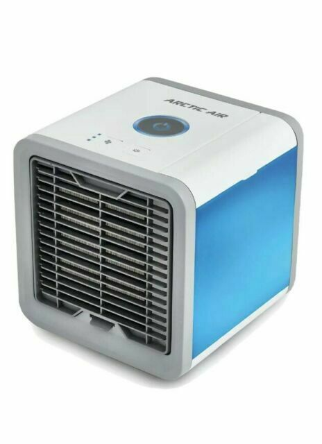 USB Air Conditioner Water Cool Cooling Fan Artic Air Cooler Quiet Humidifier